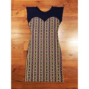 American Apparel Navy Navaho Body Con